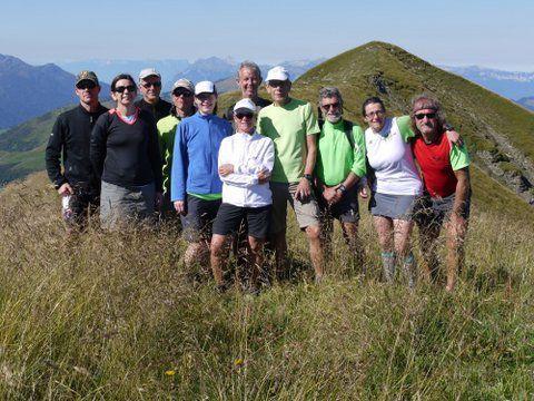 En route vers le Mont Joly 2525 m